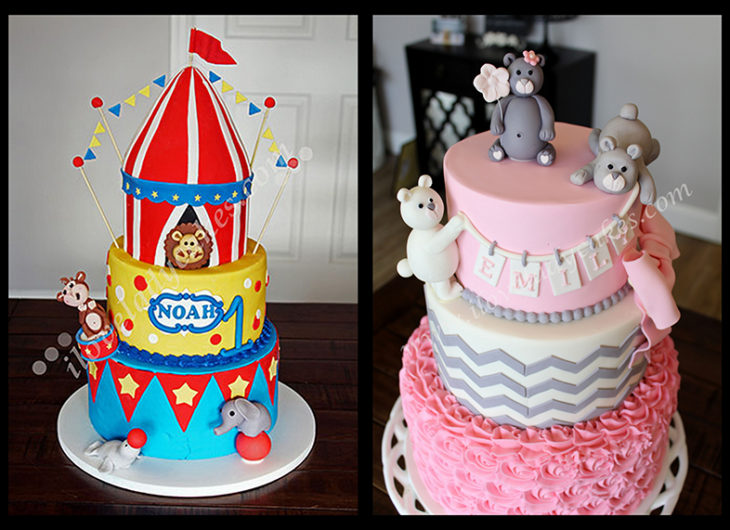Boys And Girls Birthday Cakes