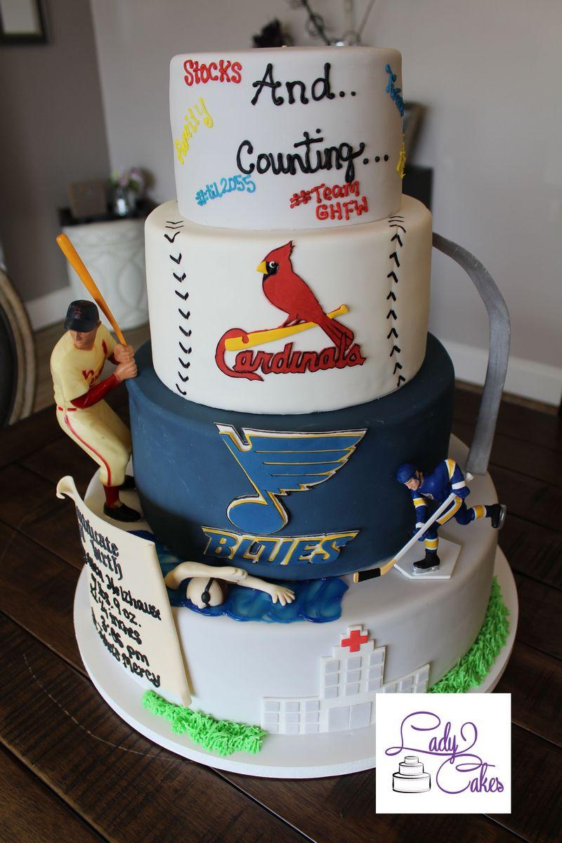 40th Birthday Cake Ladycakes Bakery